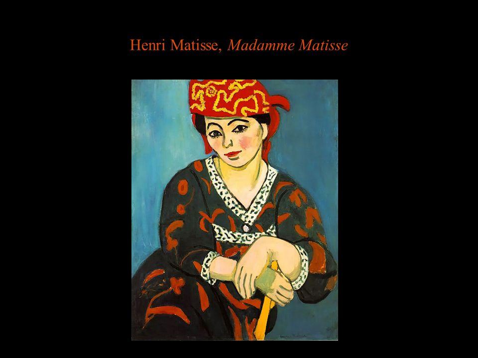 Henri Matisse, Madamme Matisse