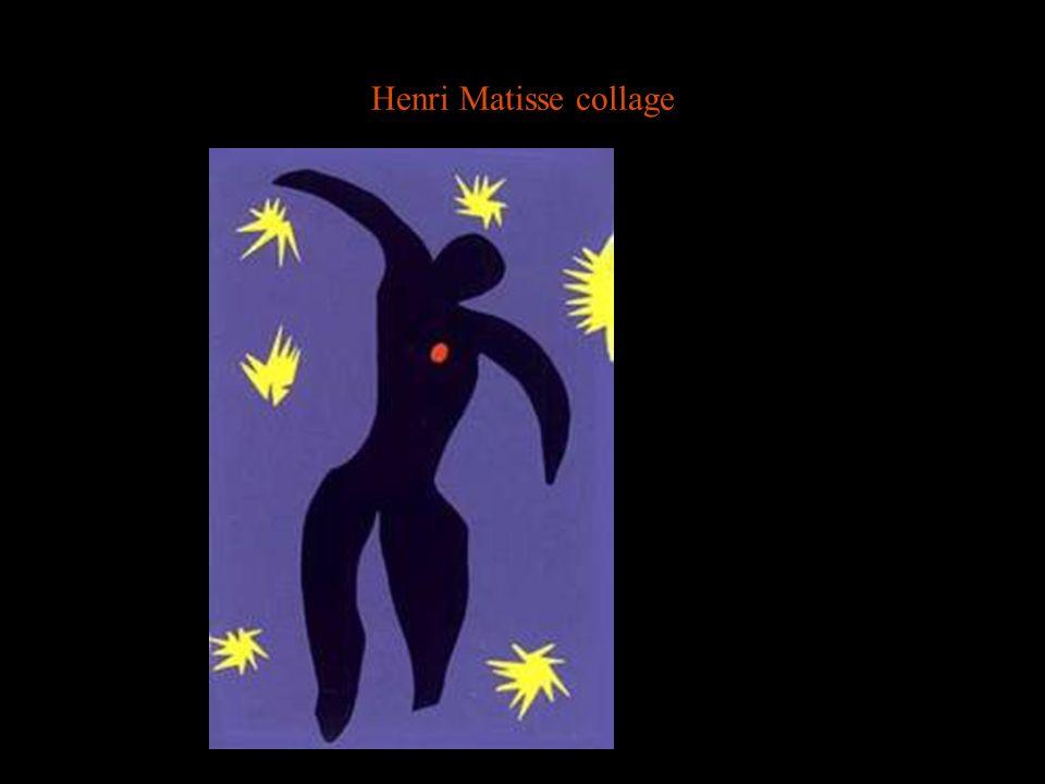 Henri Matisse collage