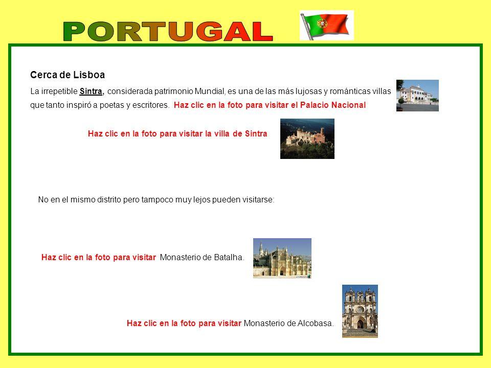 Cerca de Lisboa La irrepetible Sintra, considerada patrimonio Mundial, es una de las más lujosas y románticas villas que tanto inspiró a poetas y escr