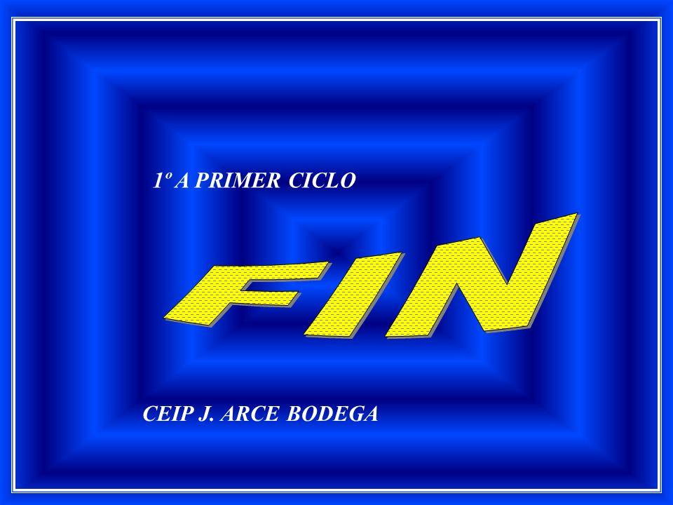 CEIP J. ARCE BODEGA 1º A PRIMER CICLO
