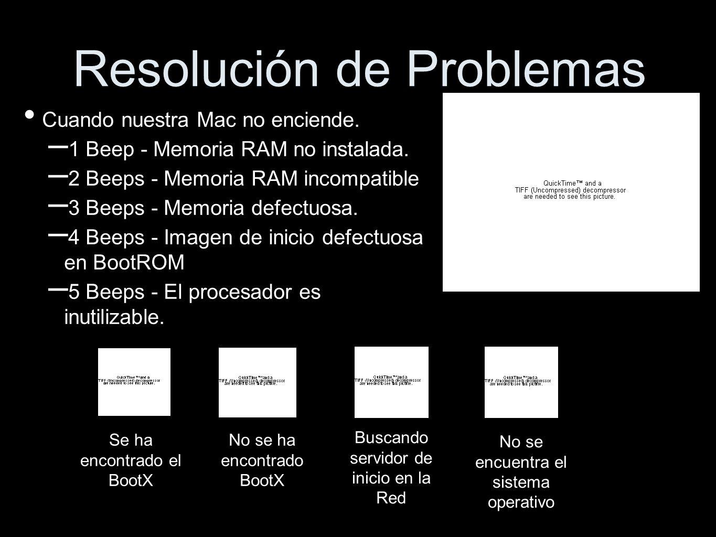 Resolución de Problemas Cuando nuestra Mac no enciende.