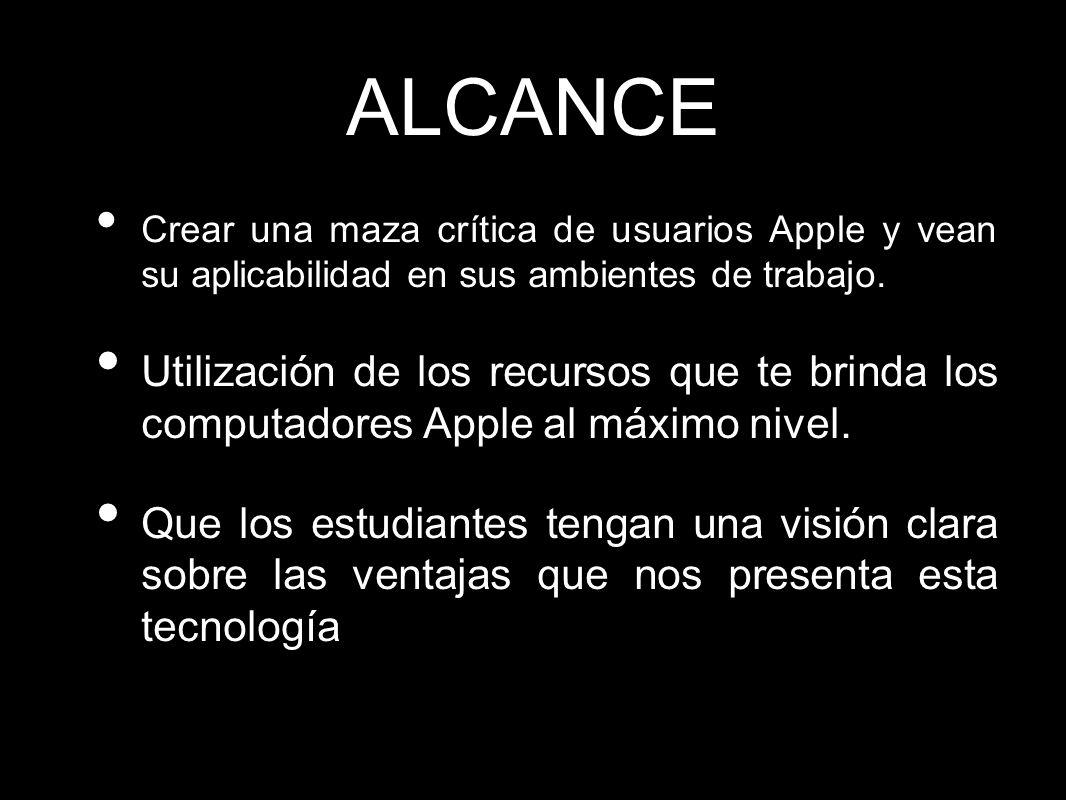 Contenidos del Curso Introductorio Breve Historia de Apple Mac OS.