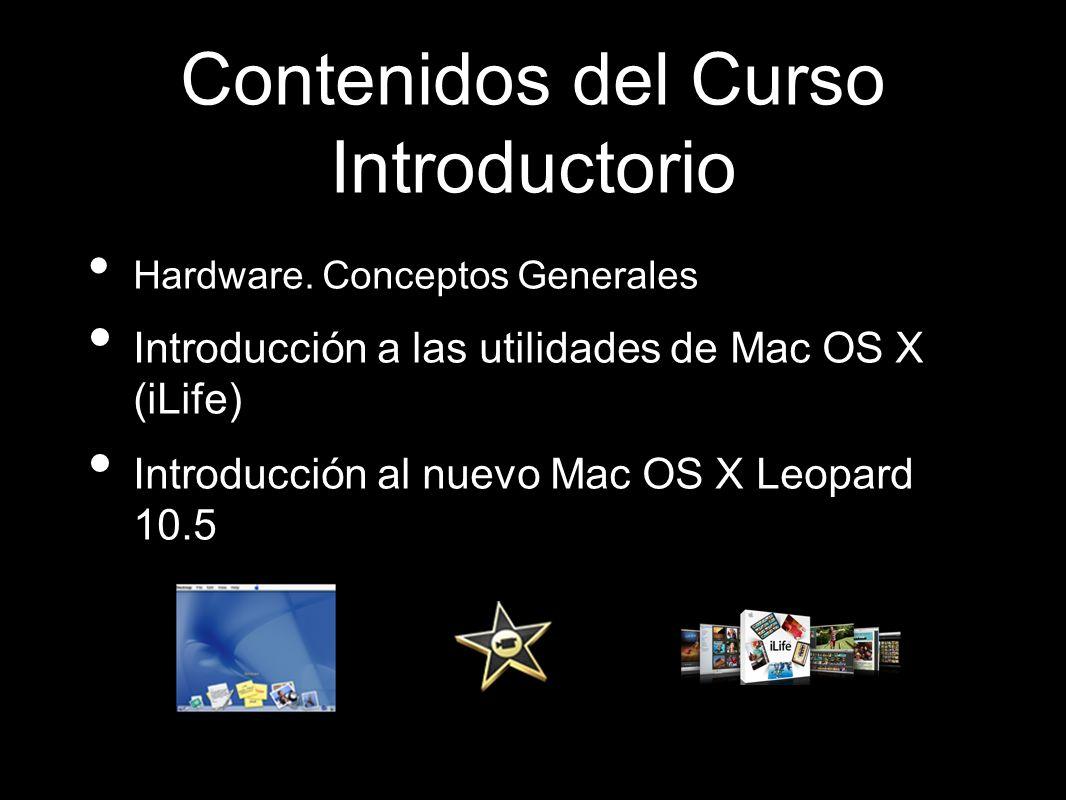 Contenidos del Curso Introductorio Hardware.