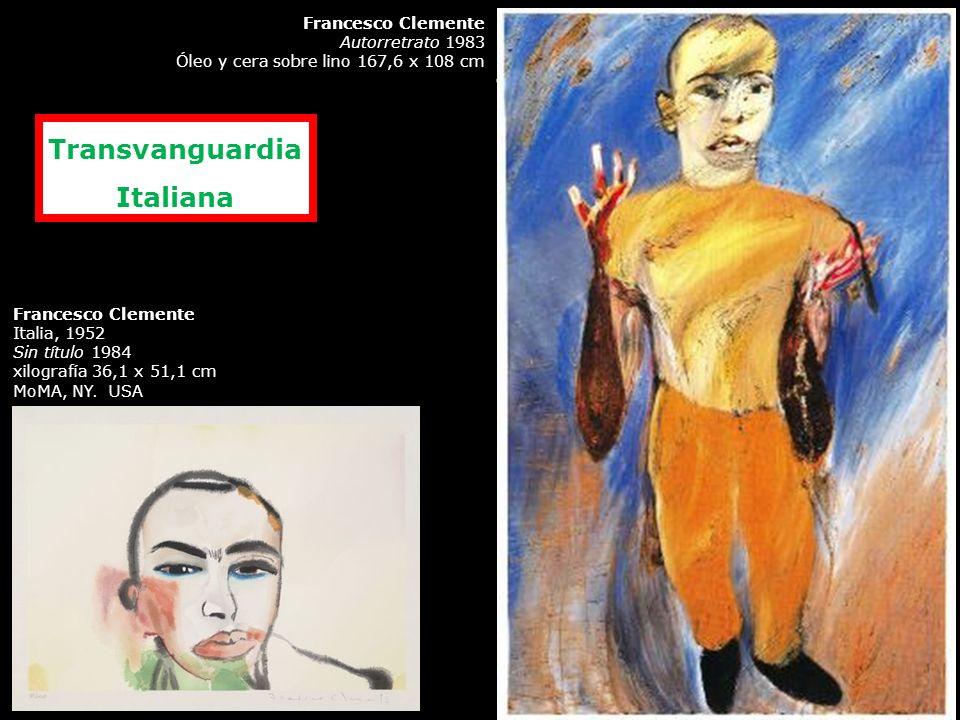 Achille Bonito Oliva «The Italian Trans-Avantgarde», Flash Art International, octubre- noviembre 1979, pp. 17-20. Rechazo del darwinismo pictórico de