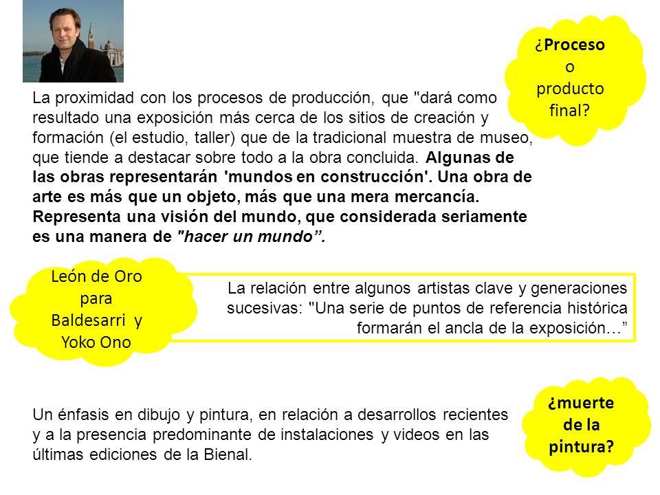 La proximidad con los procesos de producción, que