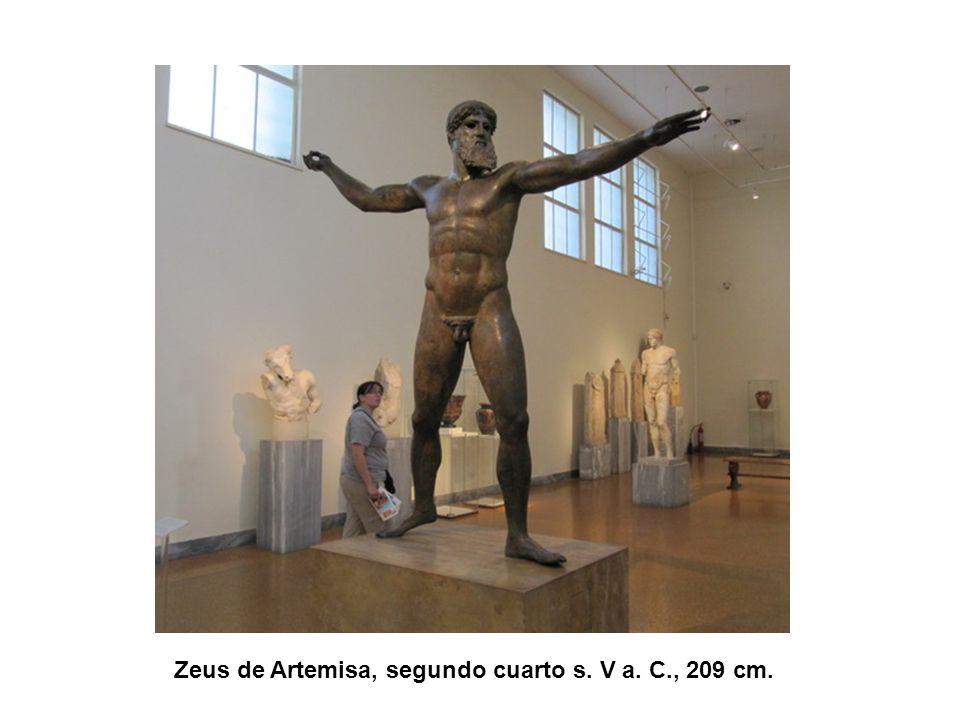 Zeus de Artemisa, segundo cuarto s. V a. C., 209 cm.