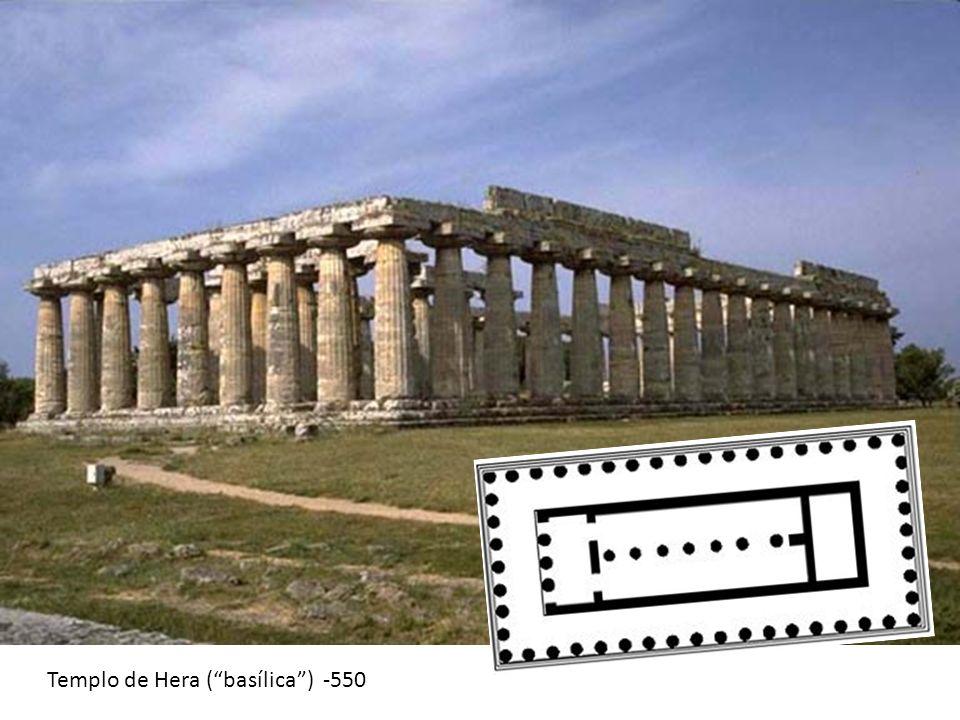 Templo de Hera (basílica) -550