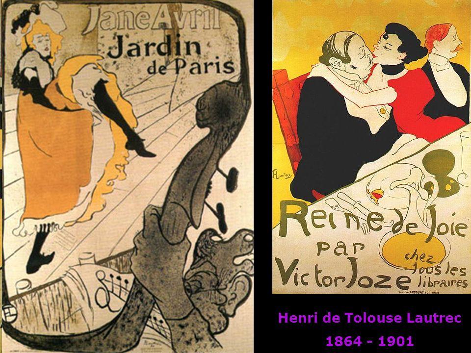 Henri de Tolouse Lautrec 1864 - 1901