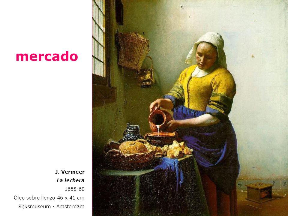 J. Vermeer Alegoría de la pintura 1666 Óleo sobre lienzo 120 x 100 cm Kunsthisto risches Museum, Viena Rembrandt El pintor en su estudio Hacia 1626-28