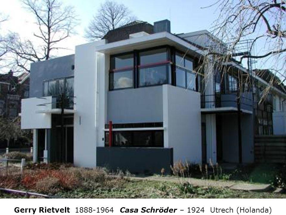 Gerry Rietvelt 1888-1964 Casa Schröder – 1924 Utrech (Holanda)