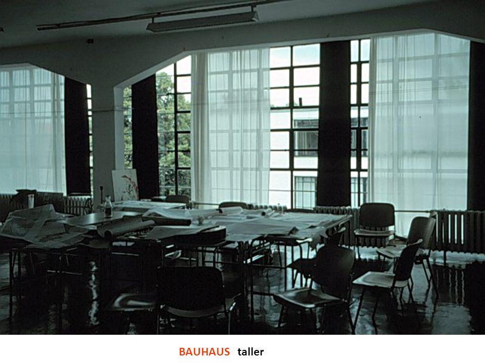 BAUHAUS taller