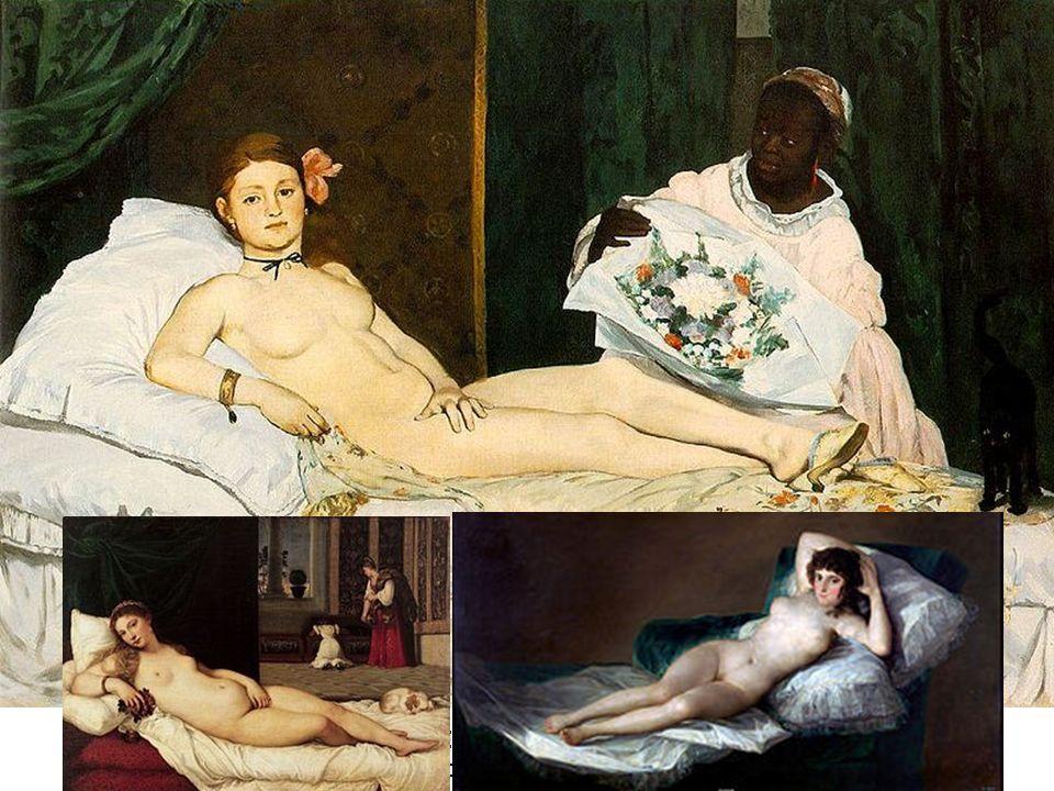 Edouard Manet Olympia Óleo sobre lienzo 130,5 x 190 cm Museo de Orsay. París