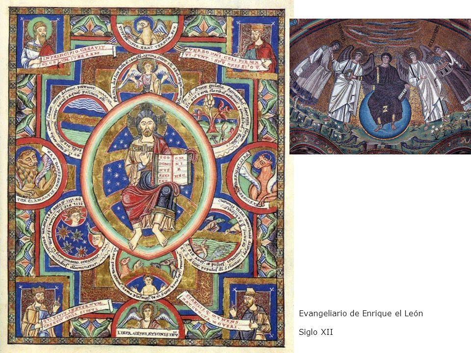 Evangeliario de Enrique el León Siglo XII