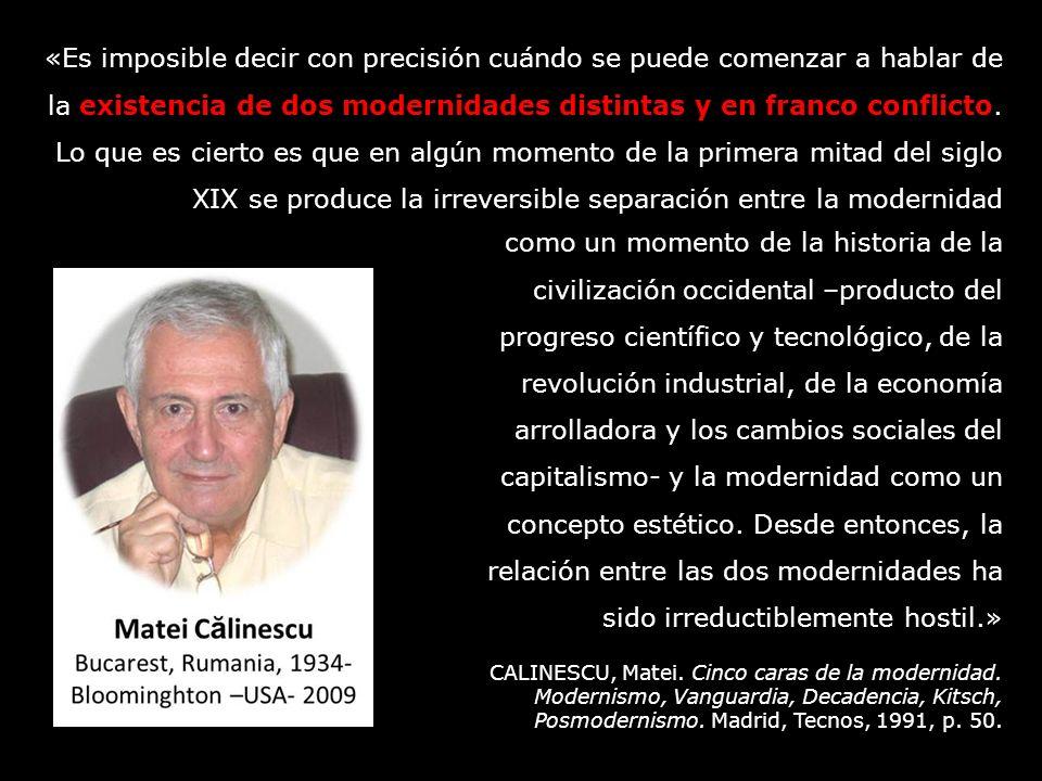 como un momento de la historia de la civilización occidental –producto del progreso científico y tecnológico, de la revolución industrial, de la econo