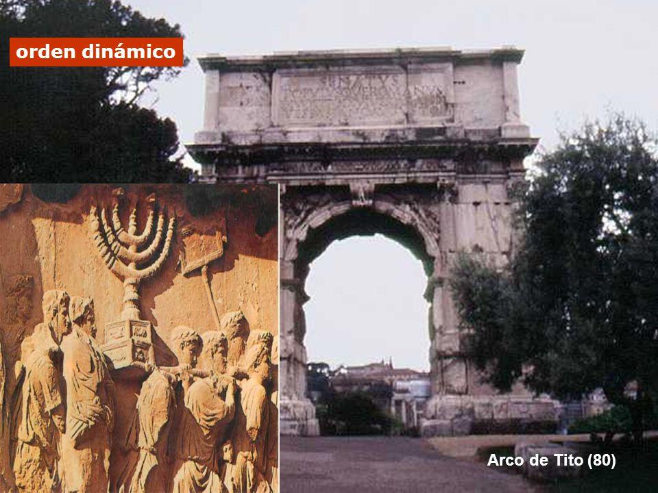 Arco de Tito (80) Arco de Tito (80) orden dinámico