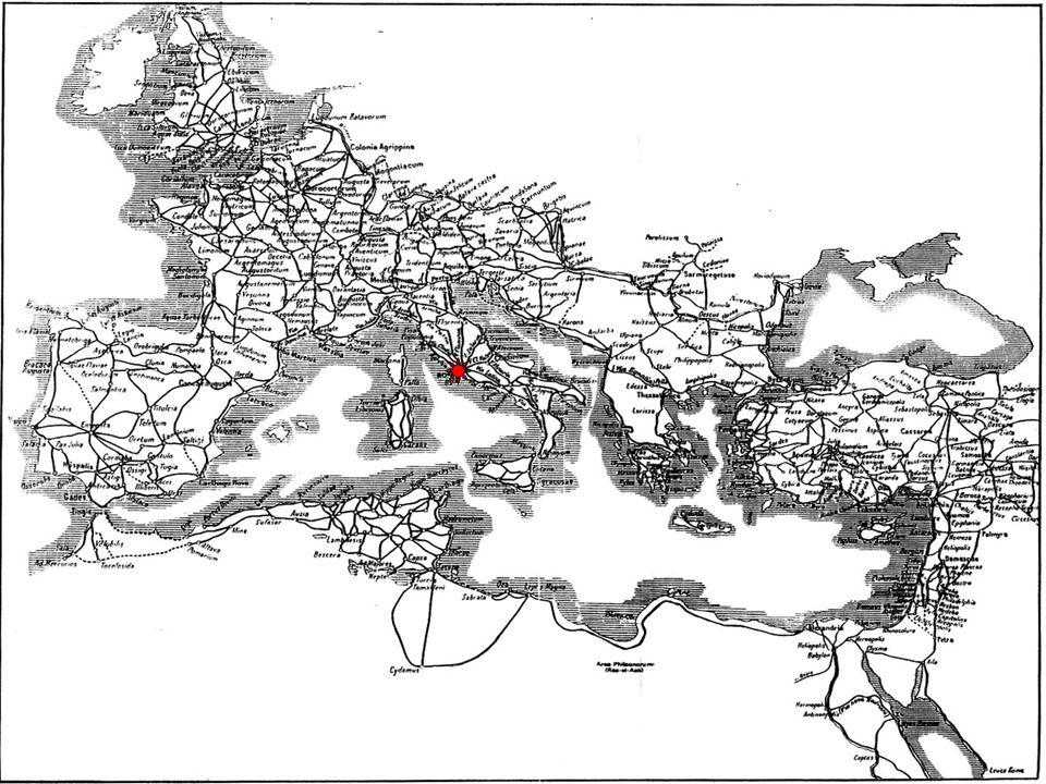 El Imperio Romano en su máxima extensión