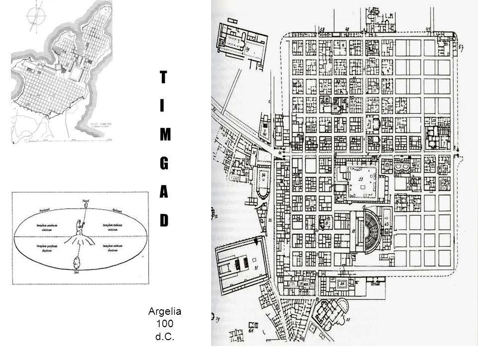Calles de Pompeya: calzadas con sistema de evacuación de aguas pluviales