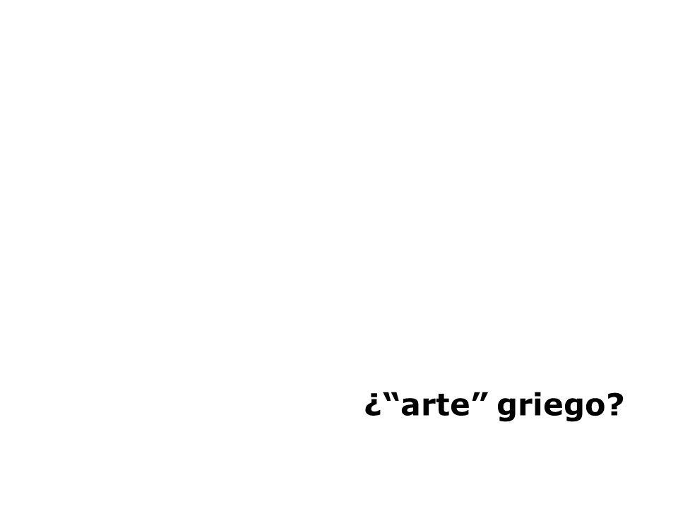 ¿arte griego?