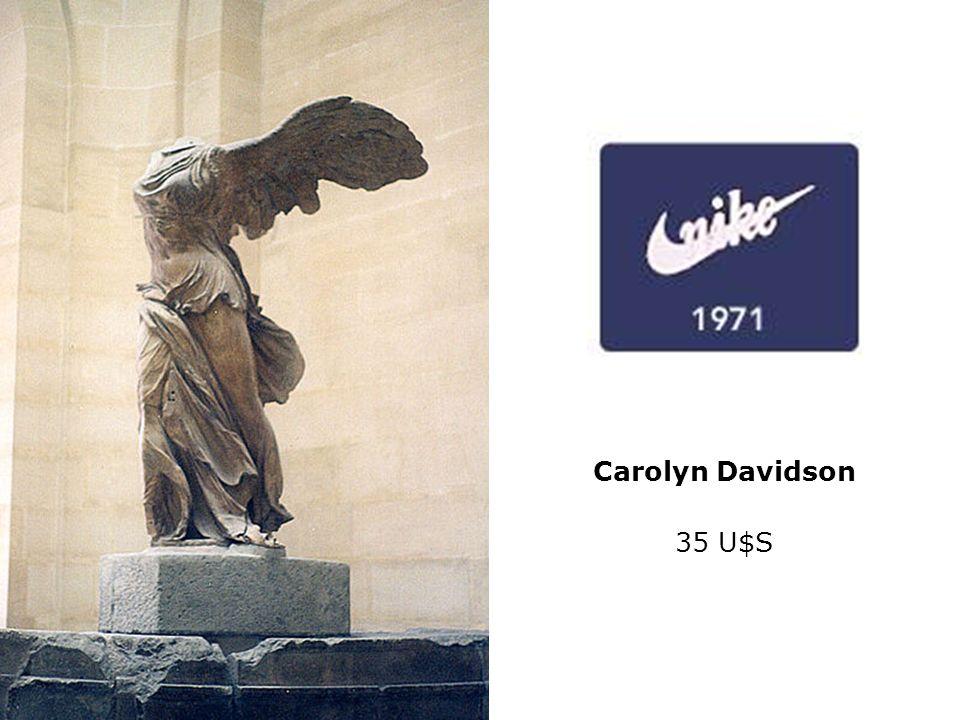Victoria de Samotracia Mármol. S. – II. Museo del Louvre. Altura: 2, 45 m Carolyn Davidson 35 U$S