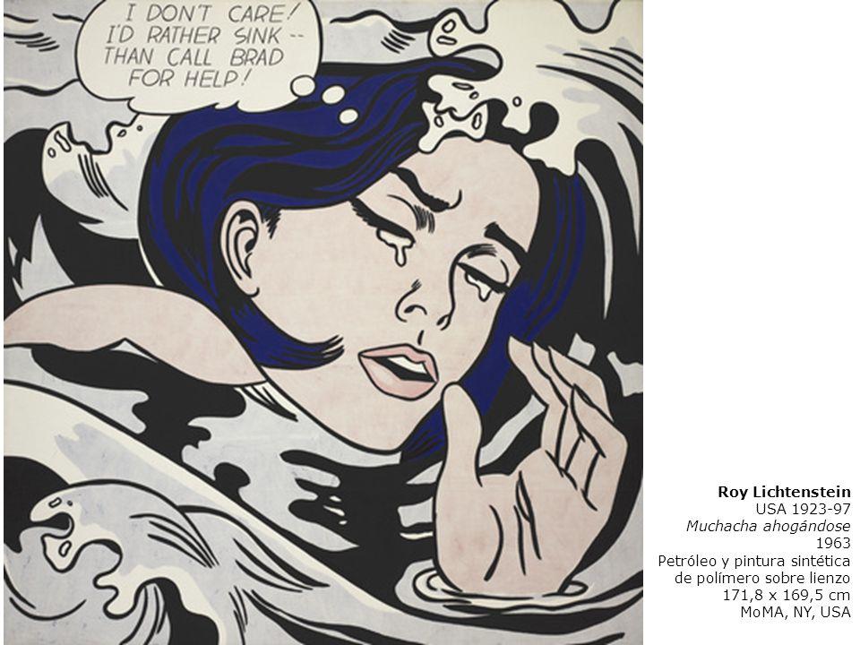 Roy Lichtenstein USA 1923-97 Muchacha ahogándose 1963 Petróleo y pintura sintética de polímero sobre lienzo 171,8 x 169,5 cm MoMA, NY, USA