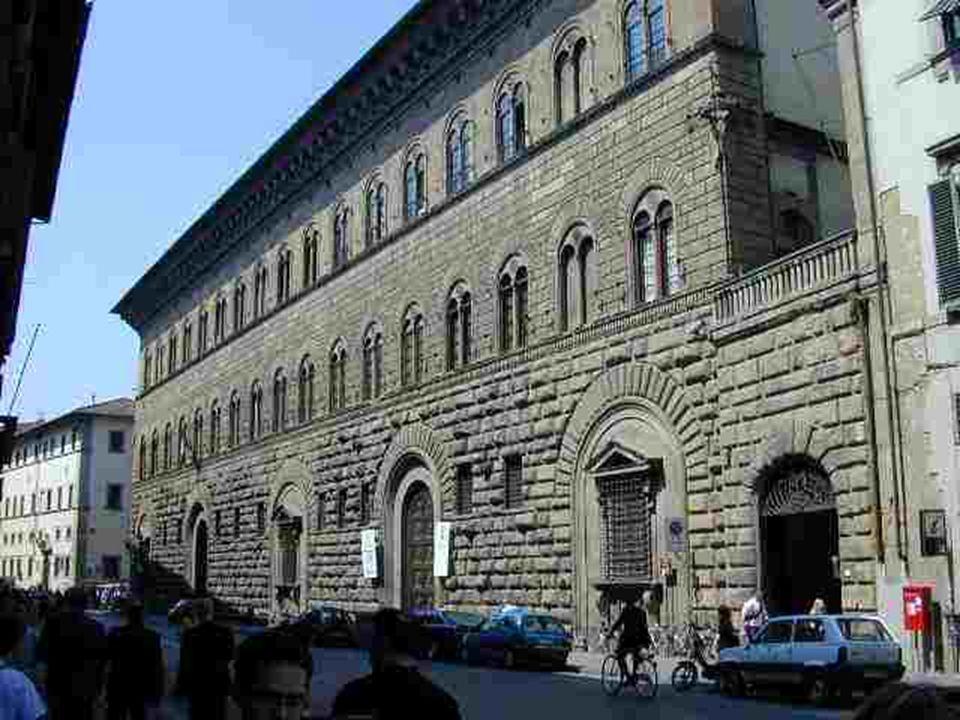 Michelozzo Palacio Médici-Riccardi 1444 Florencia