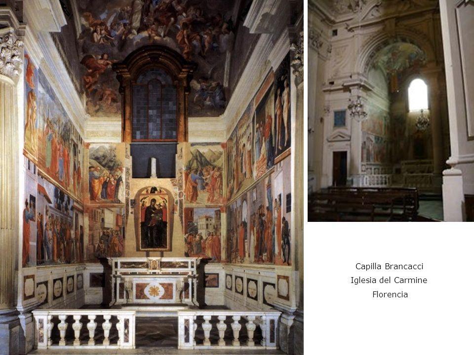 Capilla Brancacci Iglesia del Carmine Florencia