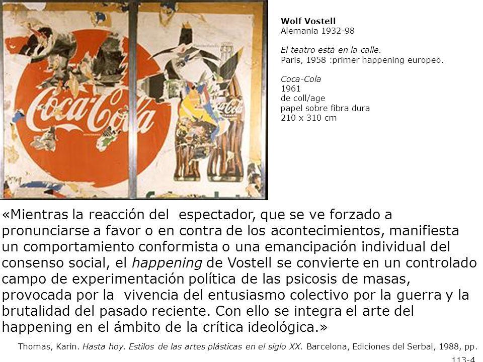 Wolf Vostell.Elektronischer Dé-coll/age Happening Raum 1968.