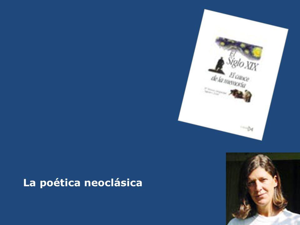 La poética neoclásica