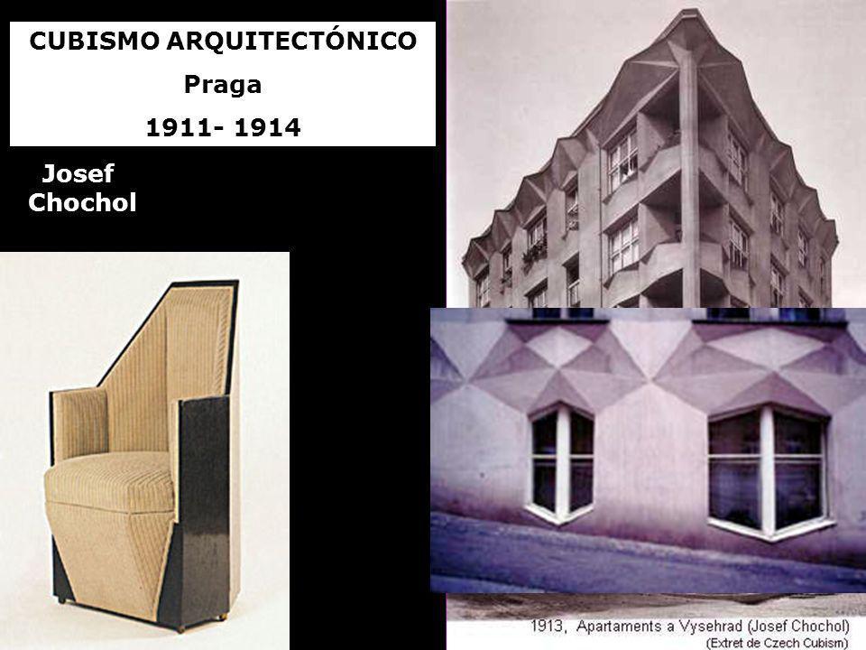 CUBISMO ARQUITECTÓNICO Praga 1911- 1914 Josef Chochol