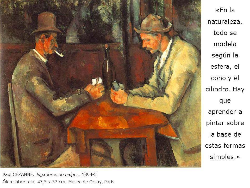 «Cuando pinto no pienso en nada: veo colores que se ordenan como ellos quieren; todo se organiza, árboles, rocas, casas, por medio de manchas de color.» «Pintar significa registrar y organizar sensaciones cromáticas.