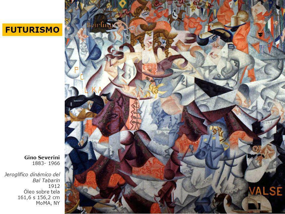 FUTURISMO Gino Severini 1883- 1966 Jeroglífico dinámico del Bal Tabarín 1912 Óleo sobre tela 161,6 s 156,2 cm MoMA, NY