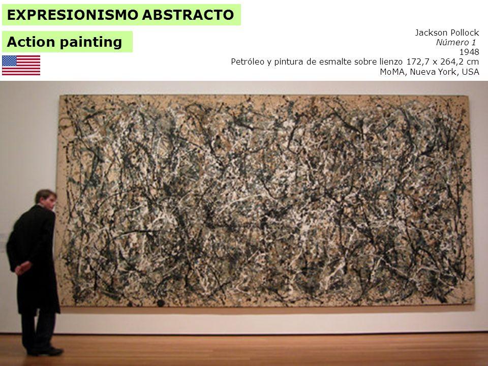 Jackson Pollock 1912-1956 Convergencia 1952 Óleo sobre lienzo 237,7 x 393,7 cm.