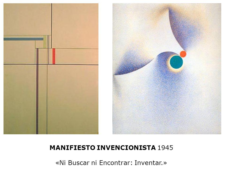 Alfredo Hlito Buenos Aires 1923-1993 Líneas tangentes 1955-56 Óleo sobre tela 139 x 119 cm MNBA Tomás Maldonado Buenos Aires 1922 Composición 1950 Óle