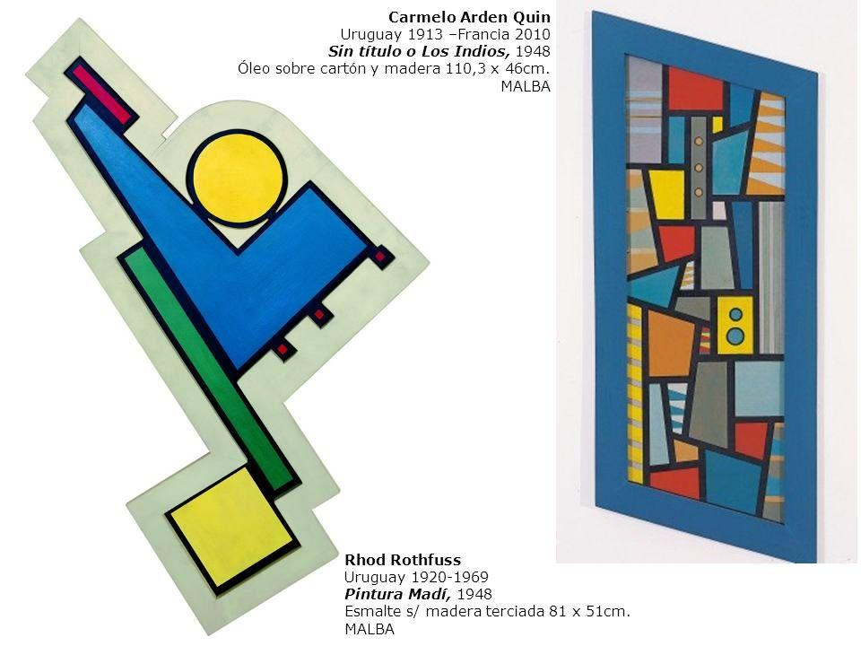 «La pintura Madí, color y bidimensionalidad. Marco recortado e irregular, superficie plana y superficie cóncava. Planos articulados, con movimiento li