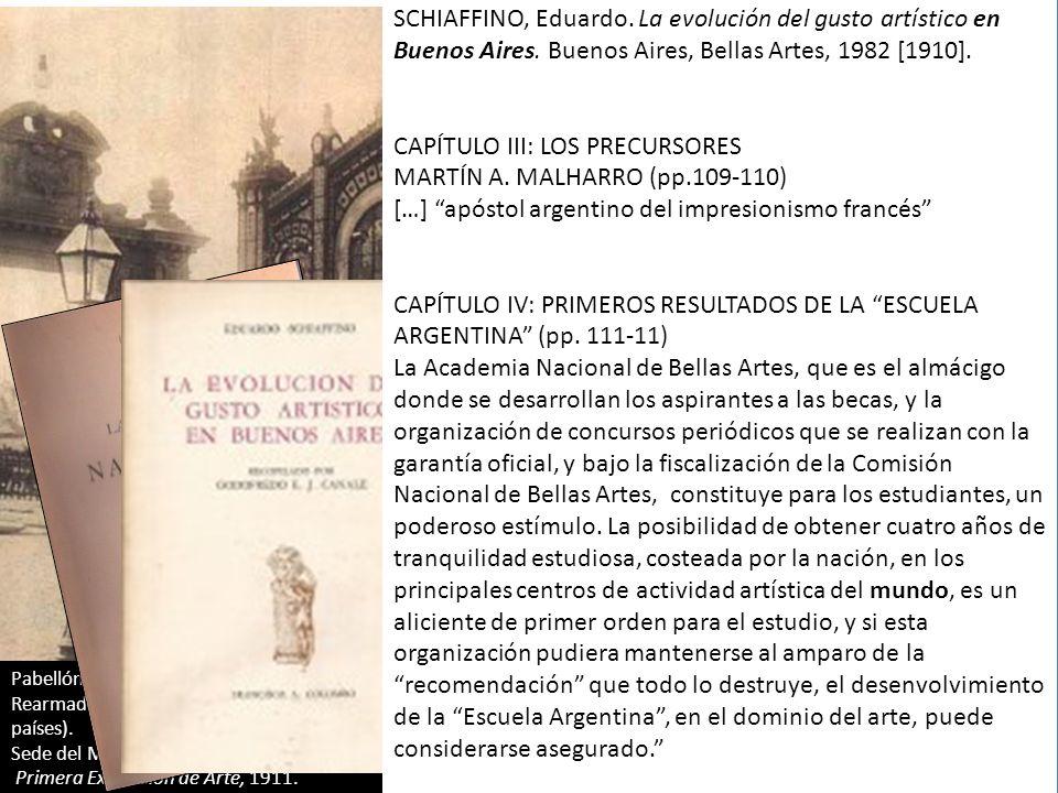 Pabellón argentino en Exposición Universal de París (1889) Rearmado en 1910 en la plaza San Martín (Buenos Aires) para albergar la Exposición de Bella