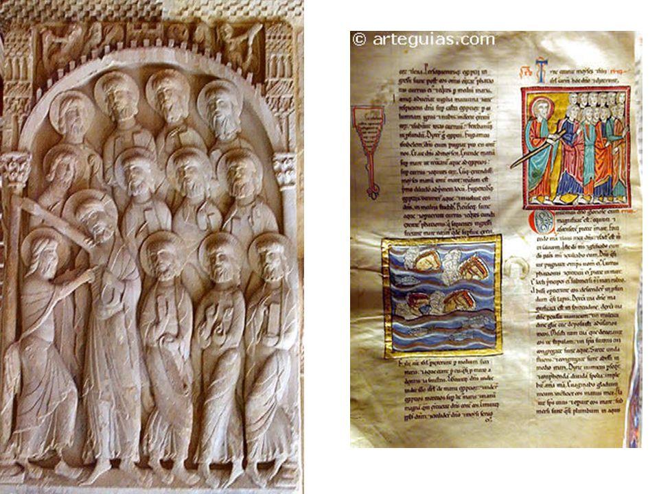 Pantócrator con tetramorfos Evangeliario de Enrique el León Manuscrito realizado en 226 hojas de pergamino, por encargo del duque Enrique, príncipe de Sajonia y Baviera, entre 1175- 1188.