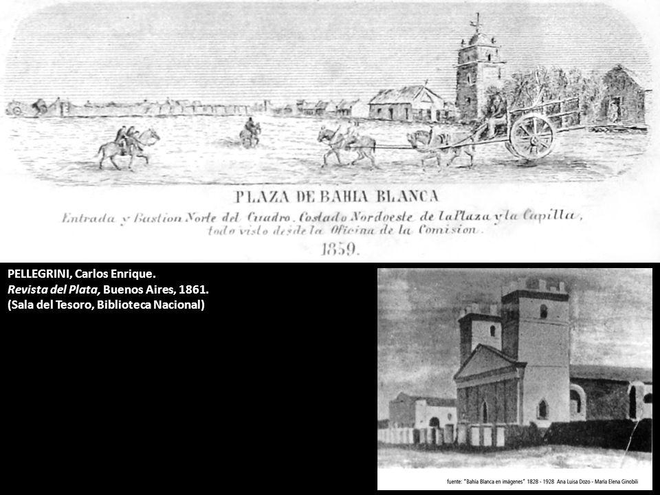 PELLEGRINI, Carlos Enrique. Revista del Plata, Buenos Aires, 1861. (Sala del Tesoro, Biblioteca Nacional)