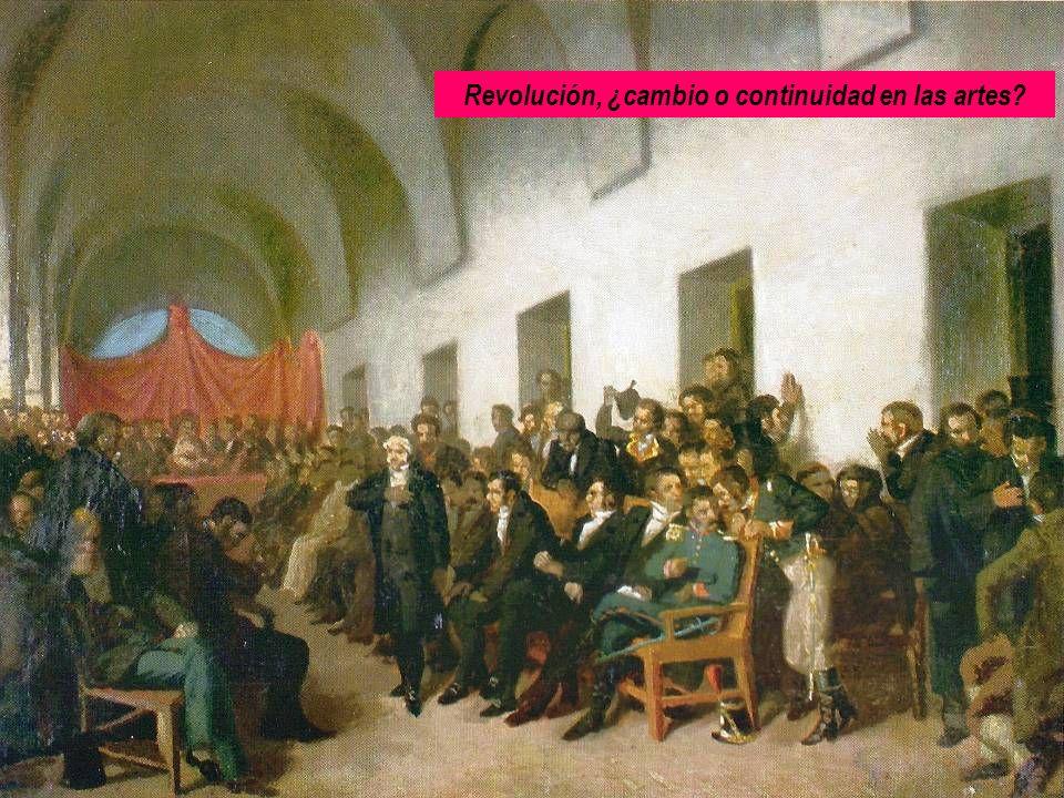 Revolución, ¿cambio o continuidad en las artes?