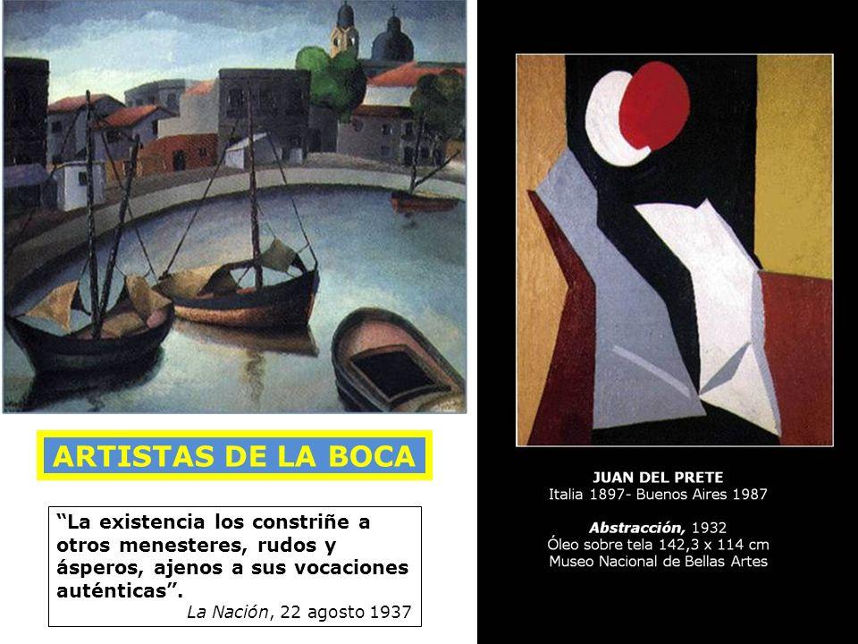 Fortunato LACAMERA (1887-1951) Desde mi estudio, c 1930 Óleo sobre tela, 100 x 80 cm. Colección MNBA La existencia los constriñe a otros menesteres, r