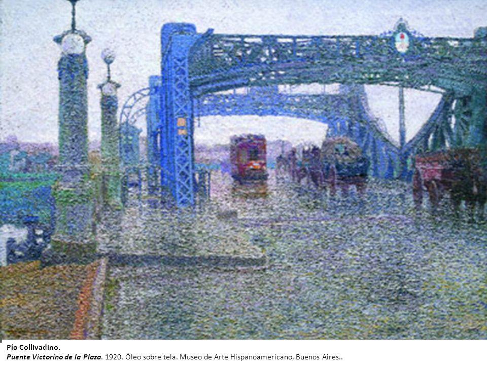 Pío Collivadino Buenos Aires 1869 - 1945 La hora del almuerzo, 1903 Óleo sobre tela 160,5 x 252 cm MNBA Medalla de oro en Exposición de Venecia Pío Co