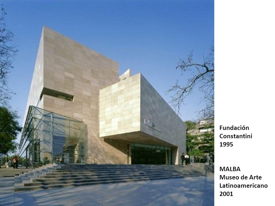 Fundación Constantini 1995 MALBA Museo de Arte Latinoamericano 2001