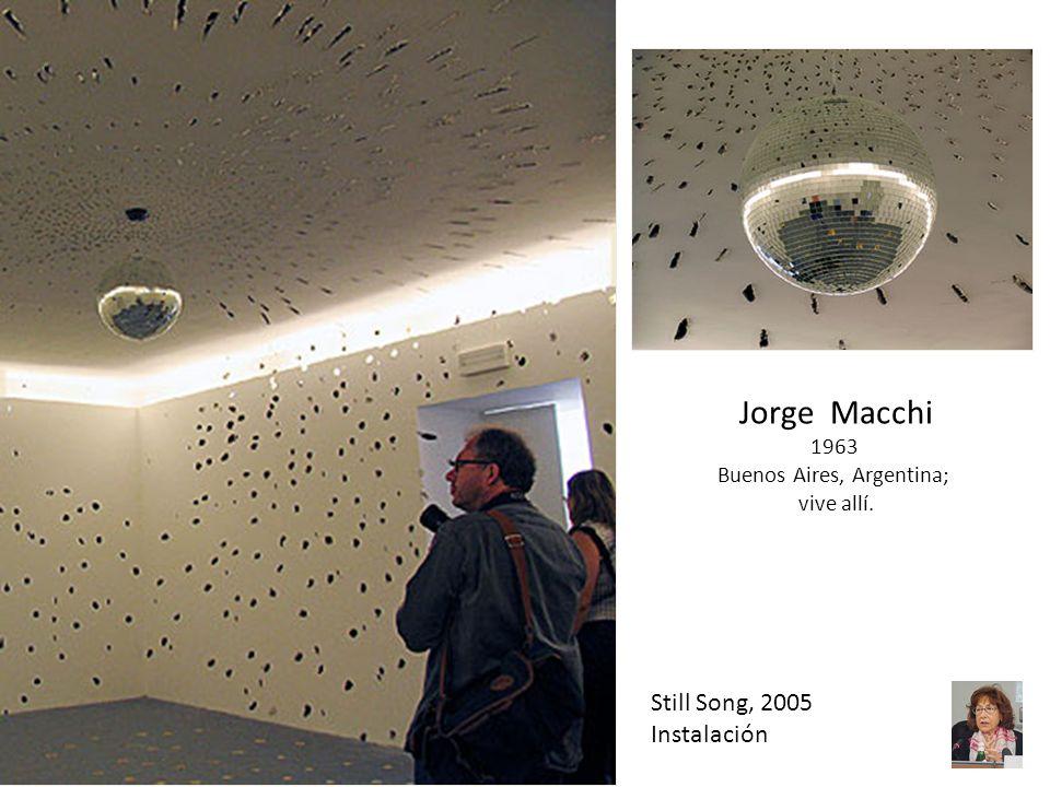 Still Song, 2005 Instalación Jorge Macchi 1963 Buenos Aires, Argentina; vive allí.