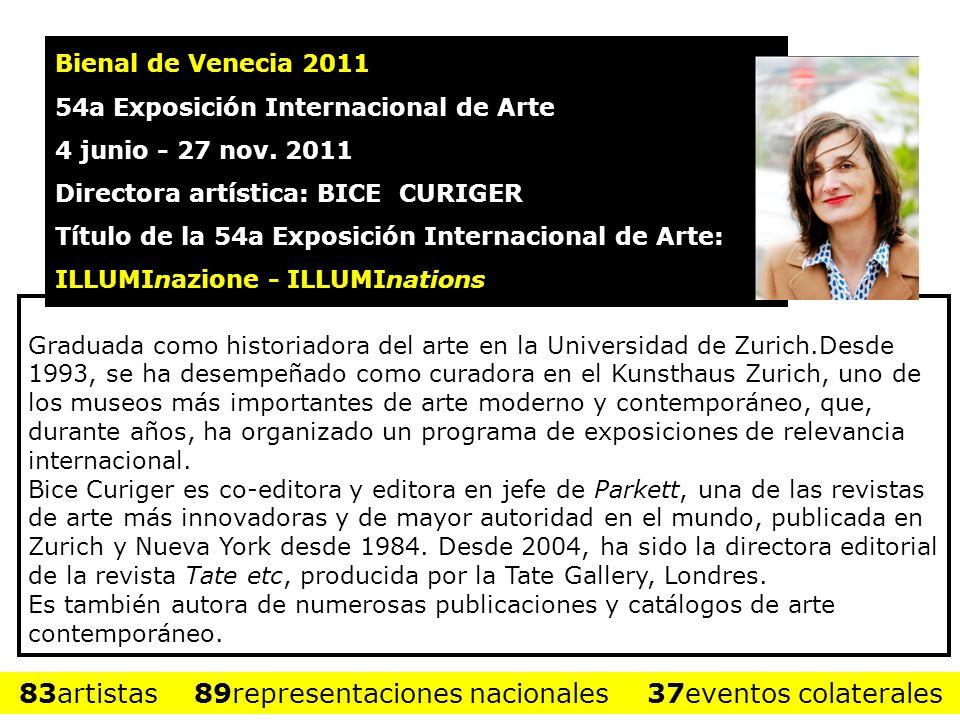 Graduada como historiadora del arte en la Universidad de Zurich.Desde 1993, se ha desempeñado como curadora en el Kunsthaus Zurich, uno de los museos