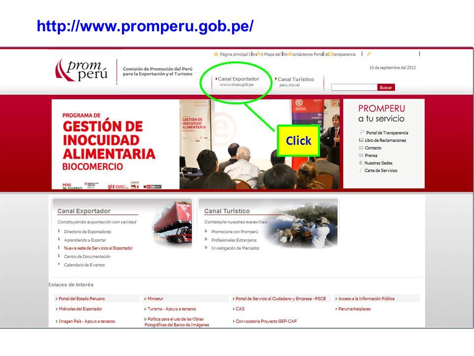 http://www.promperu.gob.pe/ Click