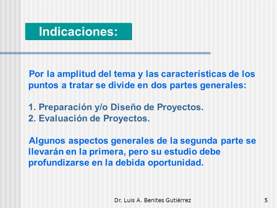 Dr. Luis A.