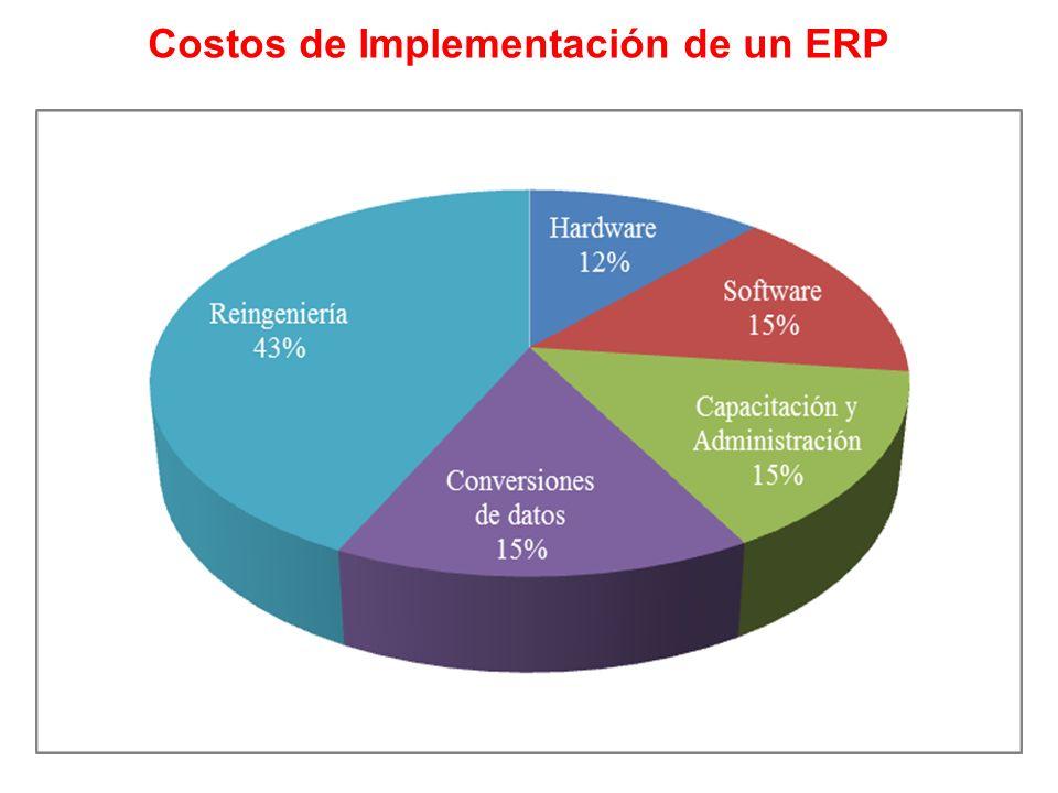 Costos de Implementación de un ERP