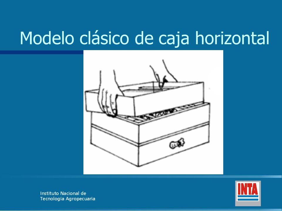 Modelo clásico de caja horizontal