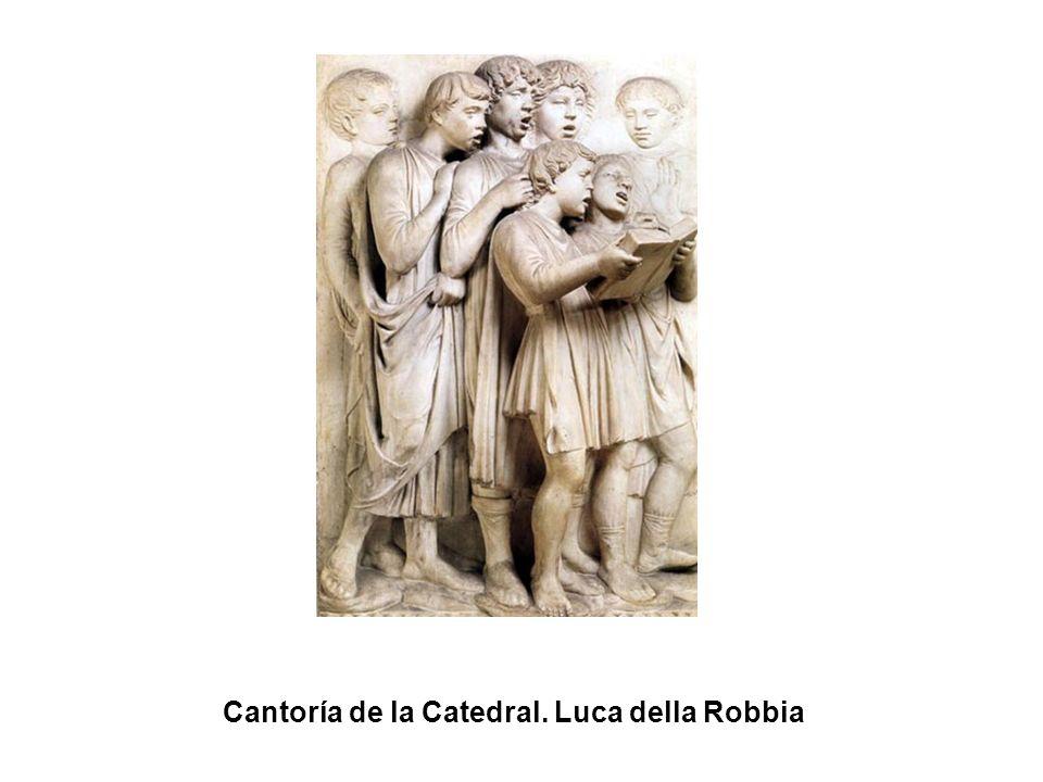 Cantoría de la Catedral. Luca della Robbia