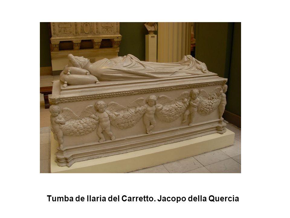 Tumba de Ilaria del Carretto. Jacopo della Quercia