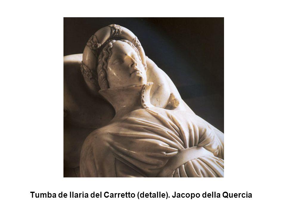 Tumba de Ilaria del Carretto (detalle). Jacopo della Quercia